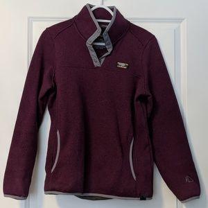 LL Bean Sweater Fleece Pull Over